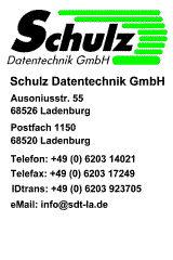 Logo von Schulz Datentechnik GmbH